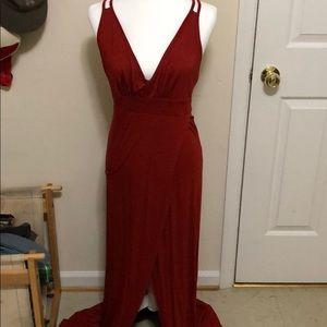 Red sexy date night dress 🥀